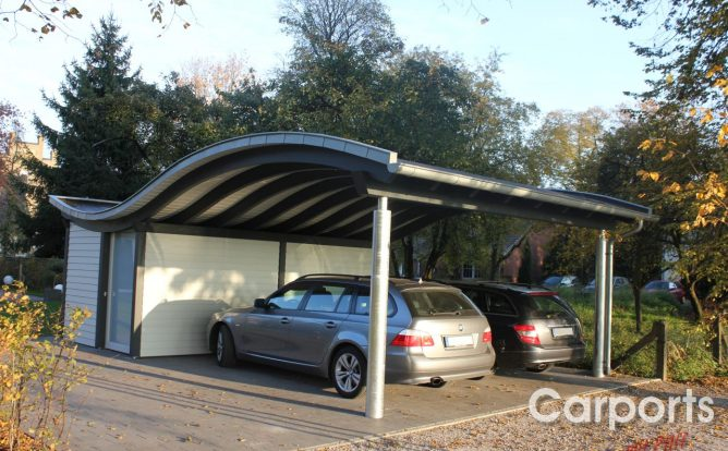 carport serien carports mit pfiff. Black Bedroom Furniture Sets. Home Design Ideas