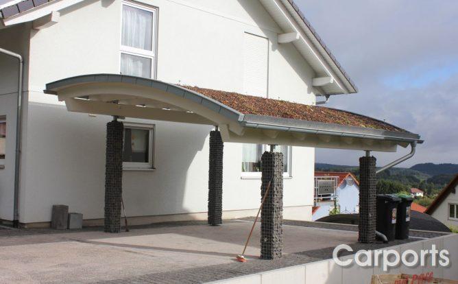 Gabionen Carport carport rondo carports mit pfiff