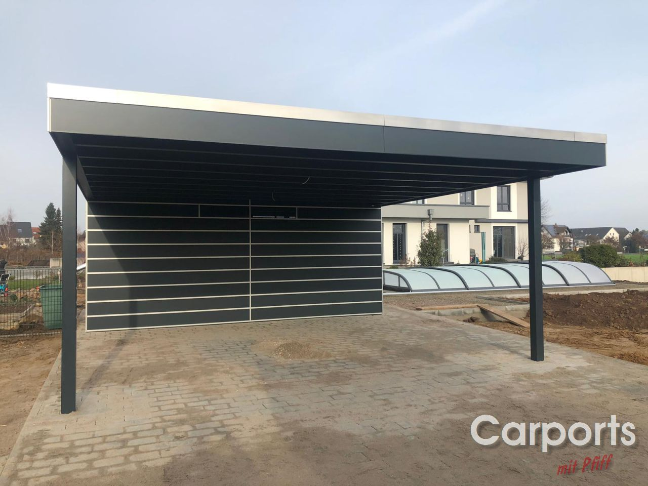 Carport mit Schuppen Archives - Carports mit Pfiff ...