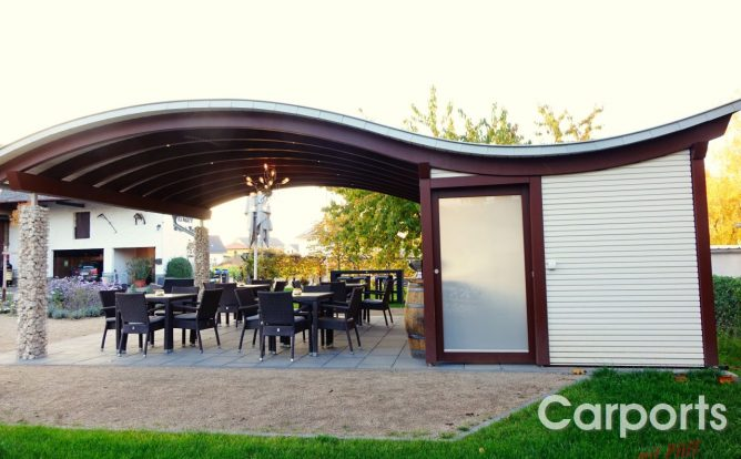 carport sinus carports mit pfiff. Black Bedroom Furniture Sets. Home Design Ideas