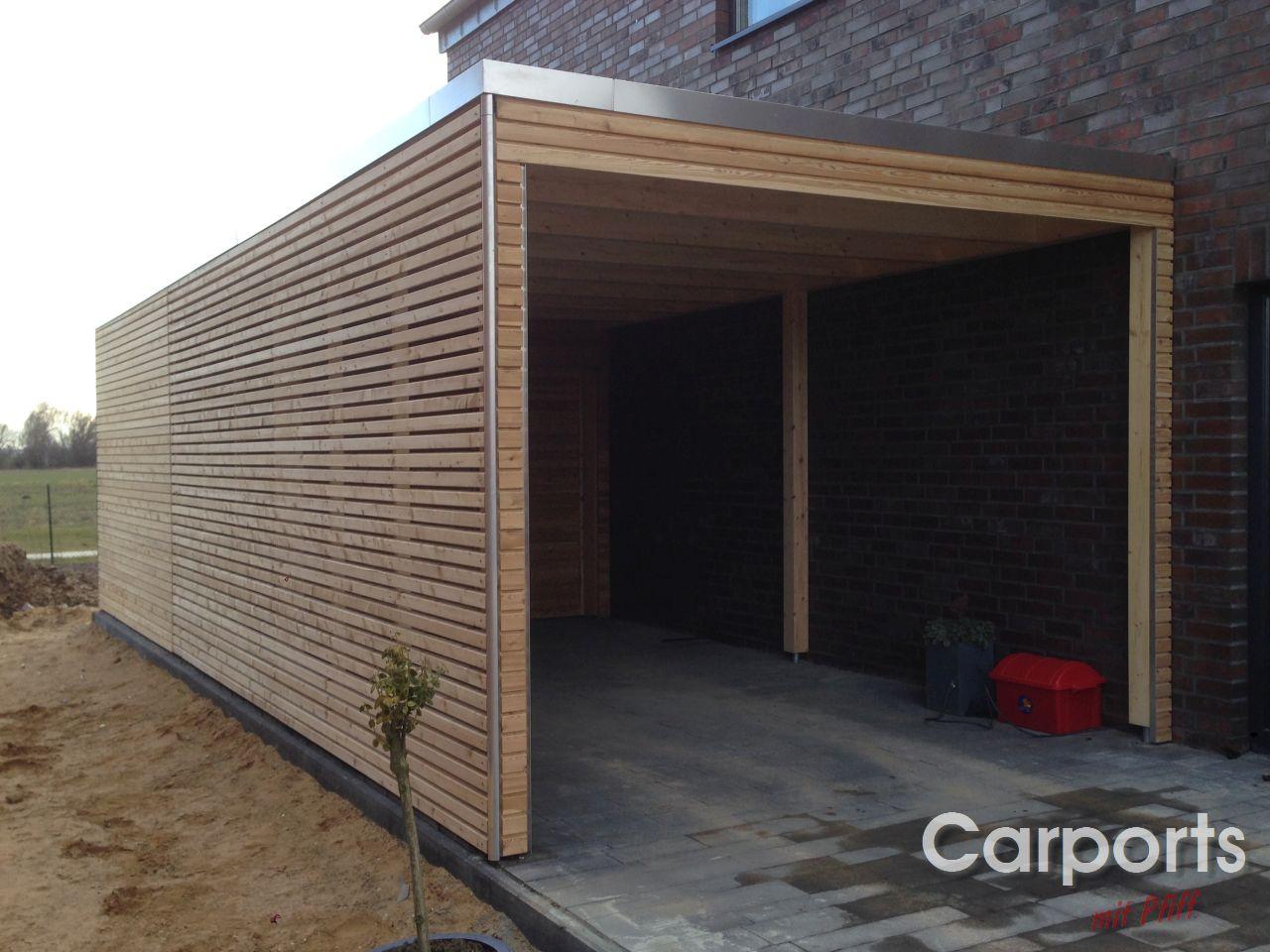 carport bauhaus rhombo aus sibirischer l rche carports mit pfiff carports mit pfiff. Black Bedroom Furniture Sets. Home Design Ideas