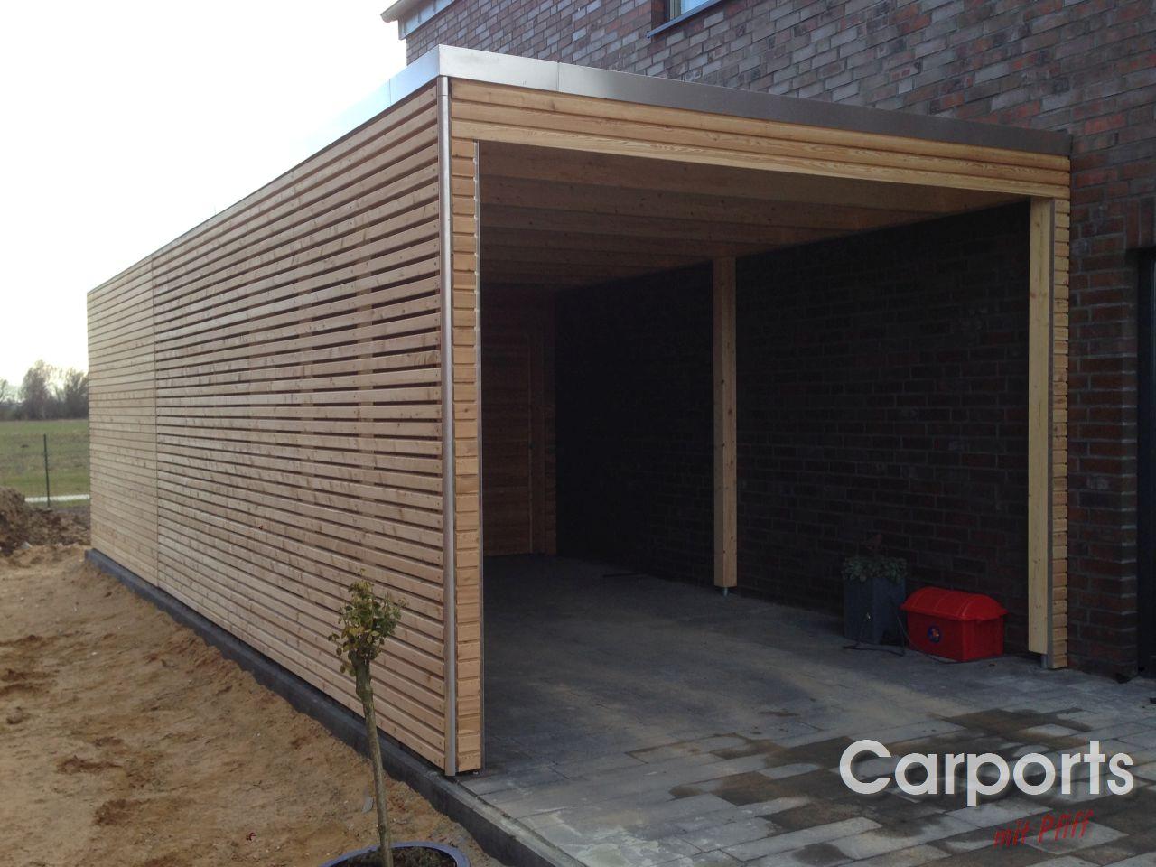 Carport En Garage : Carport bauhaus rhombo aus sibirischer lärche carports mit pfiff