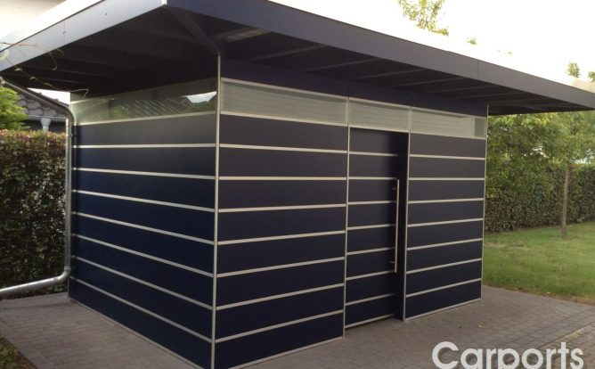 abstellraum bauhaus hpl carports mit pfiff. Black Bedroom Furniture Sets. Home Design Ideas