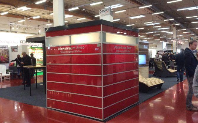 Abstellraum Bauhaus Enzo mit ESG-Sicherheitsglas