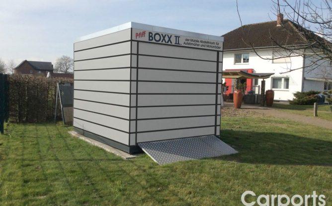 Boxx II mit Hörmann Sektionaltor