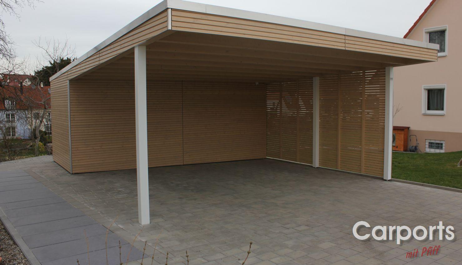 Carport Holz Bauhaus Rhombo