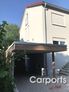 carport dachbegrünung 1