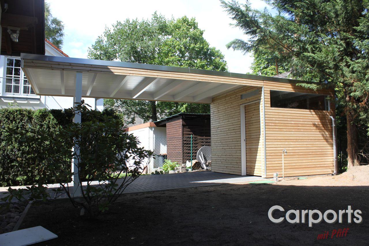 carport bauhaus rhombo aus sibirischer l rche unbehandelt carports mit pfiff. Black Bedroom Furniture Sets. Home Design Ideas