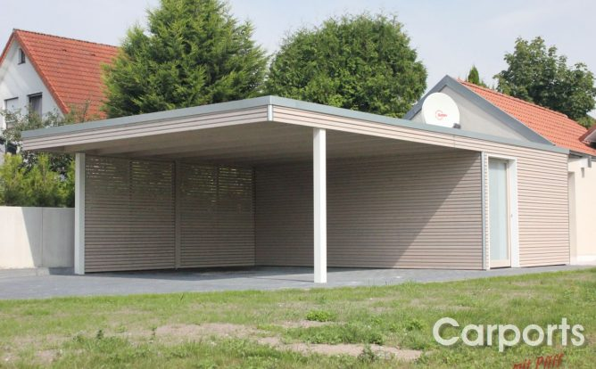 carport bauhaus rhombo carports mit pfiff. Black Bedroom Furniture Sets. Home Design Ideas
