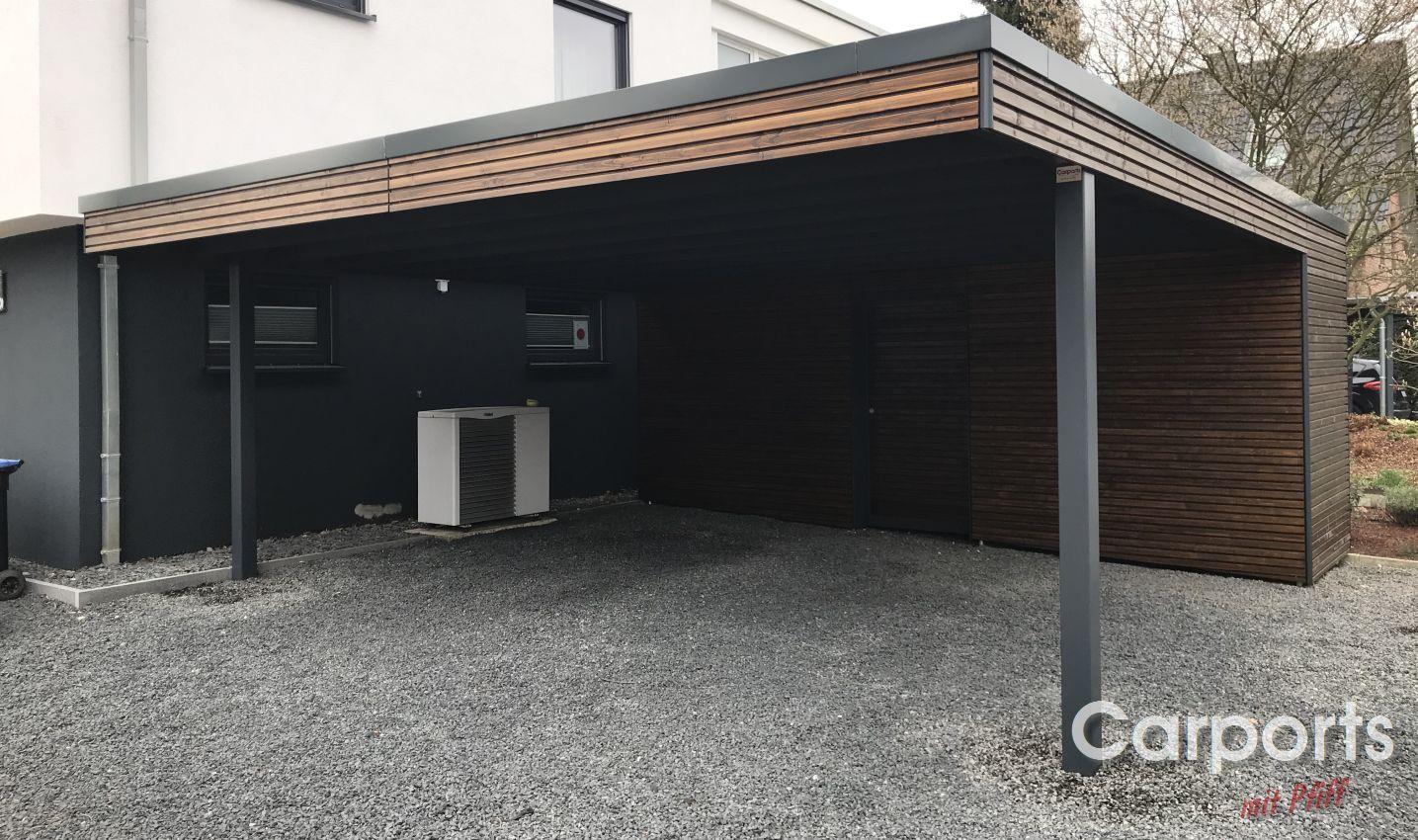 Carport Holz Rhombo