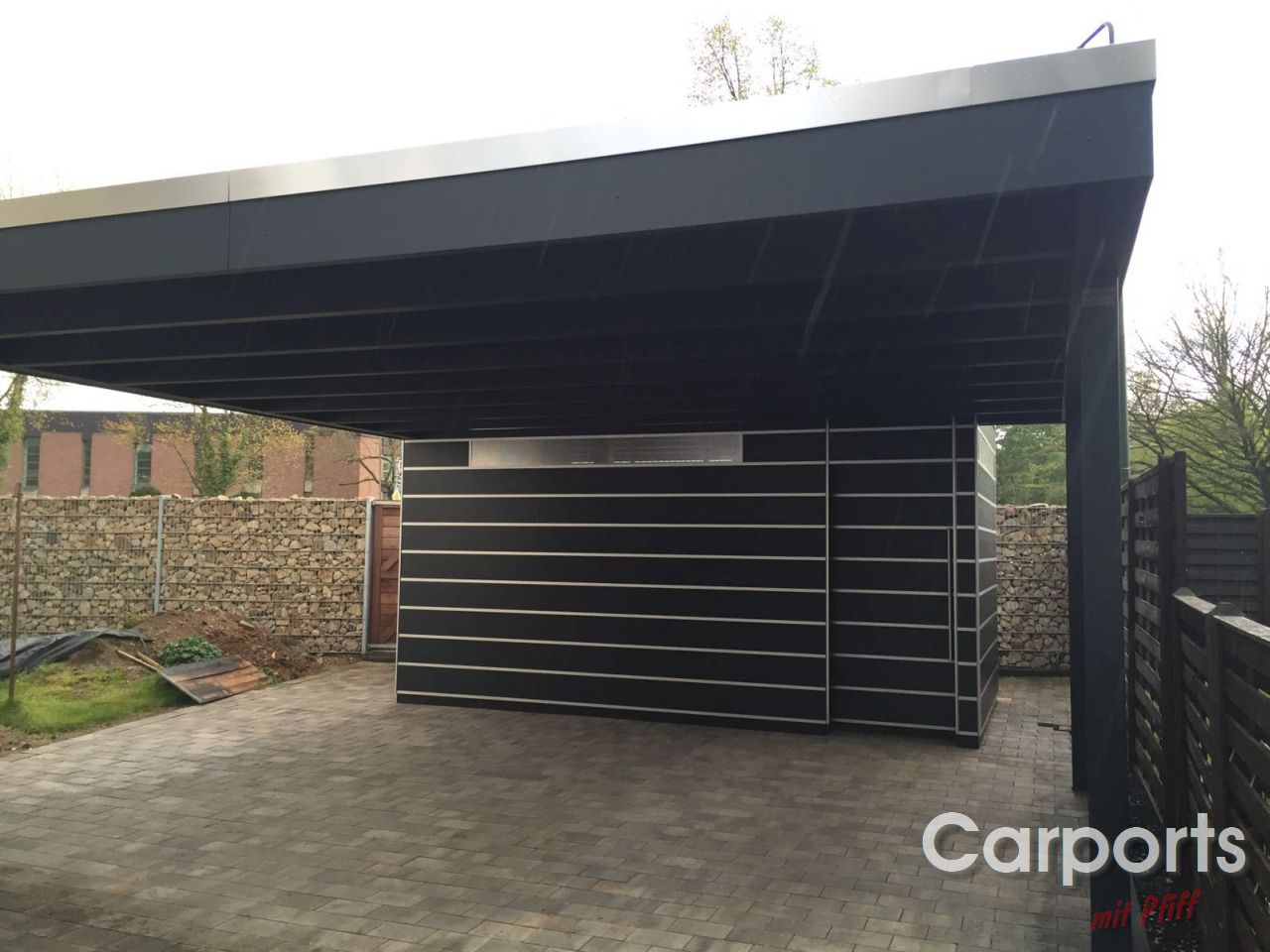carports mit pfiff. Black Bedroom Furniture Sets. Home Design Ideas