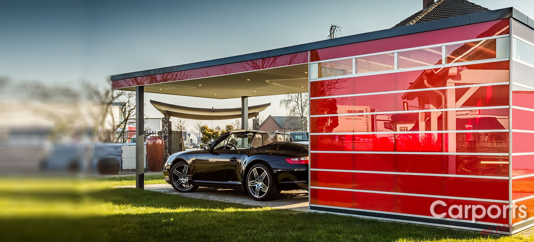 Carport Enzo Porsche